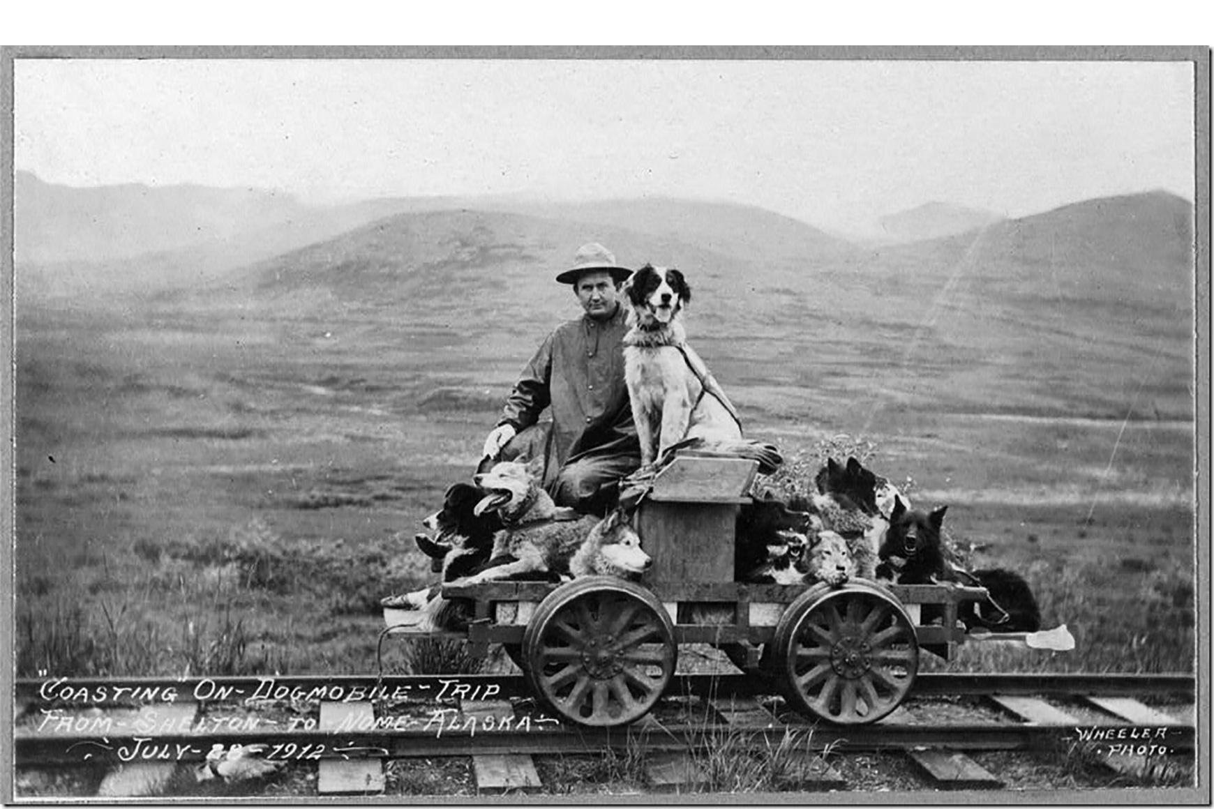 Fotograaf onbekend, Alaska, 1928 - Collectie Granddaughter L. Johnson/ Library of Congress
