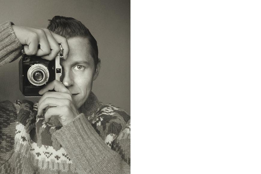 zelfportret Koen Hauser
