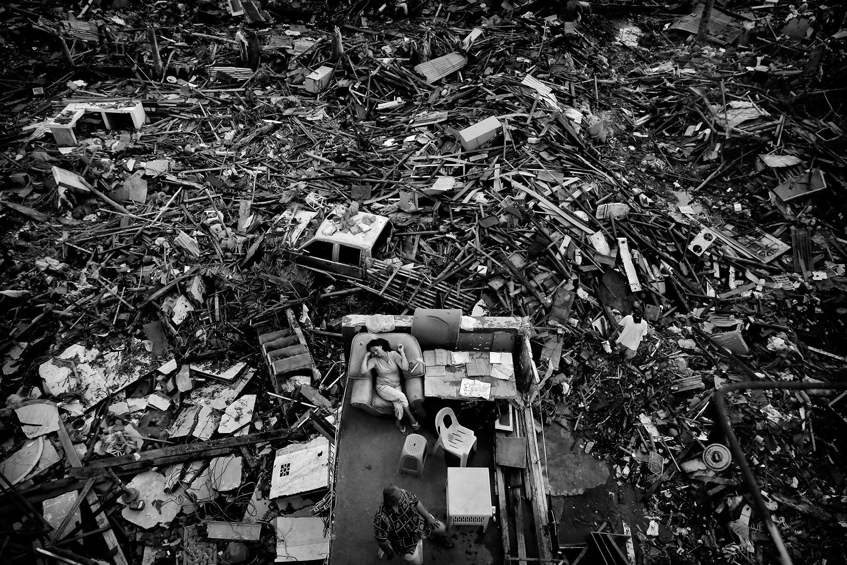 Typhoon Haiyan - Foto Kevin Frayer