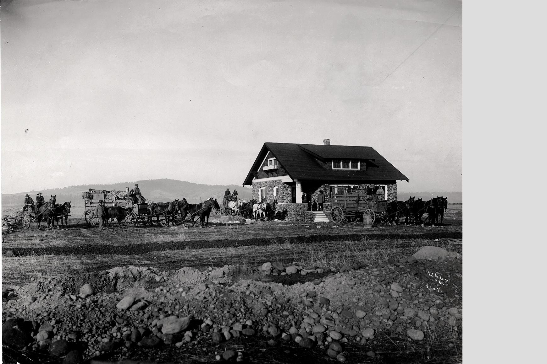 Foto Charles Libby, Spokane 1908 / Collectie Washington State Archive