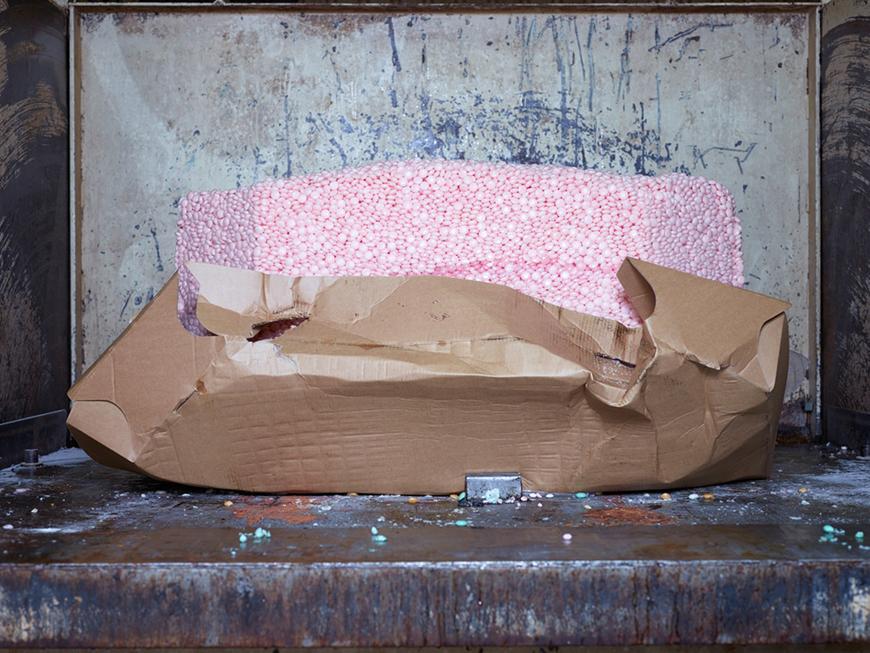 Foto Henk Wildschut, Afval, uit de serie Voedsel