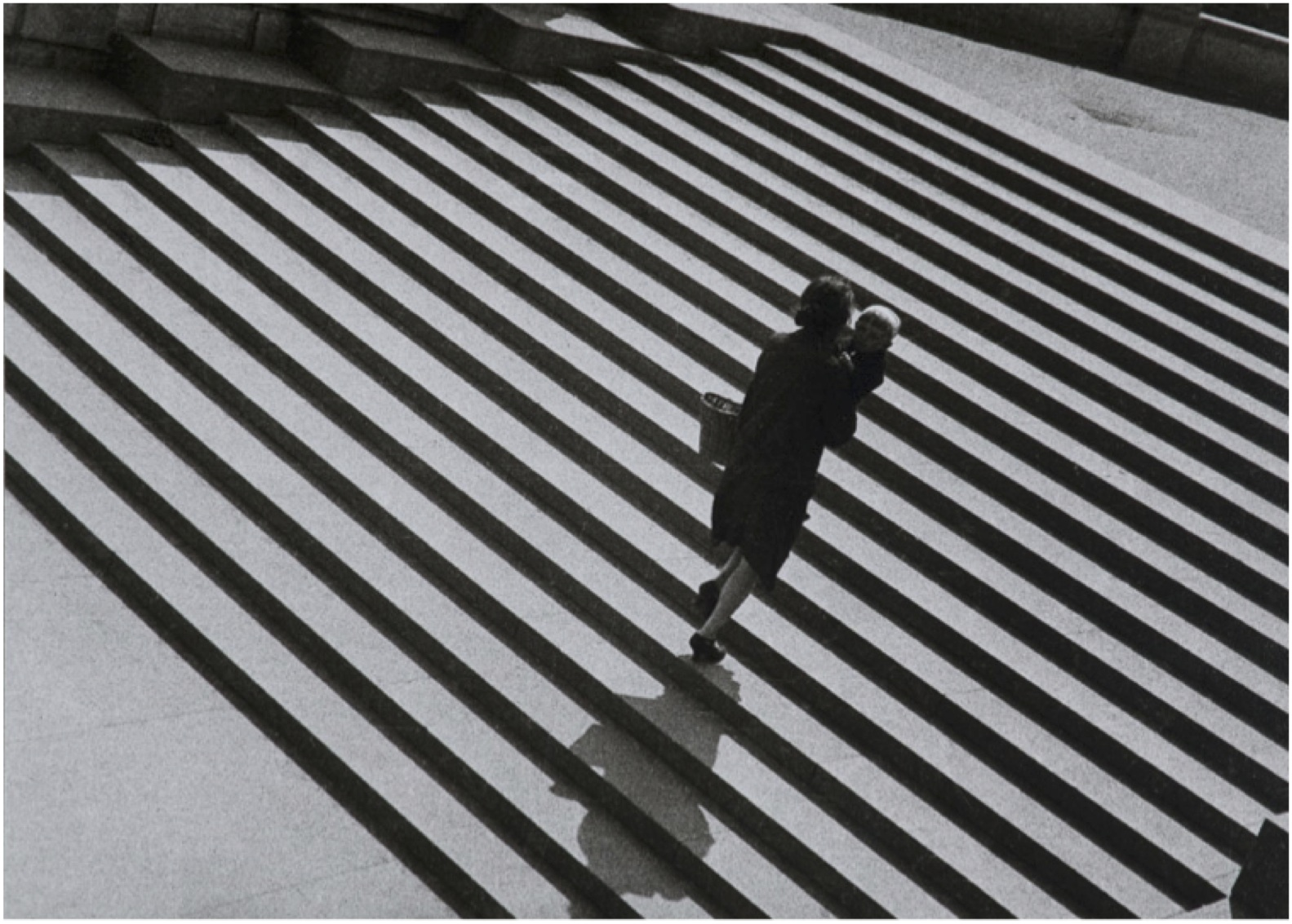 Alexander Rodchenko, Stairs of the Holy Saviour, 1930