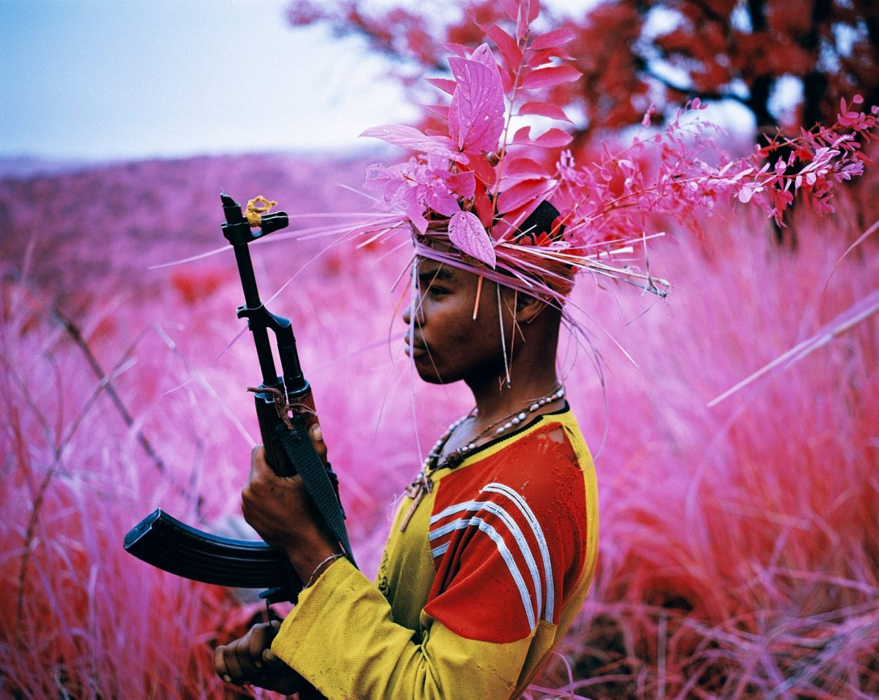 Safe From Harm, North Kivu, eastern Congo, 2012. Image courtesy of the artist and Jack Shainman Gallery (c) Richard Mosse