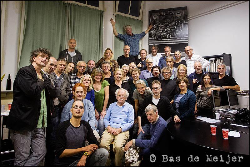 De laatste groepsfoto van beroepsvereniging GKf. © Foto: Bas de Meijer