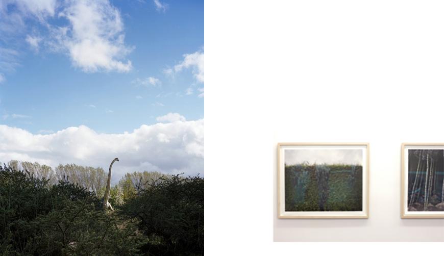 Werk van Ute en Werner Mahler in Galerie Robert Morat