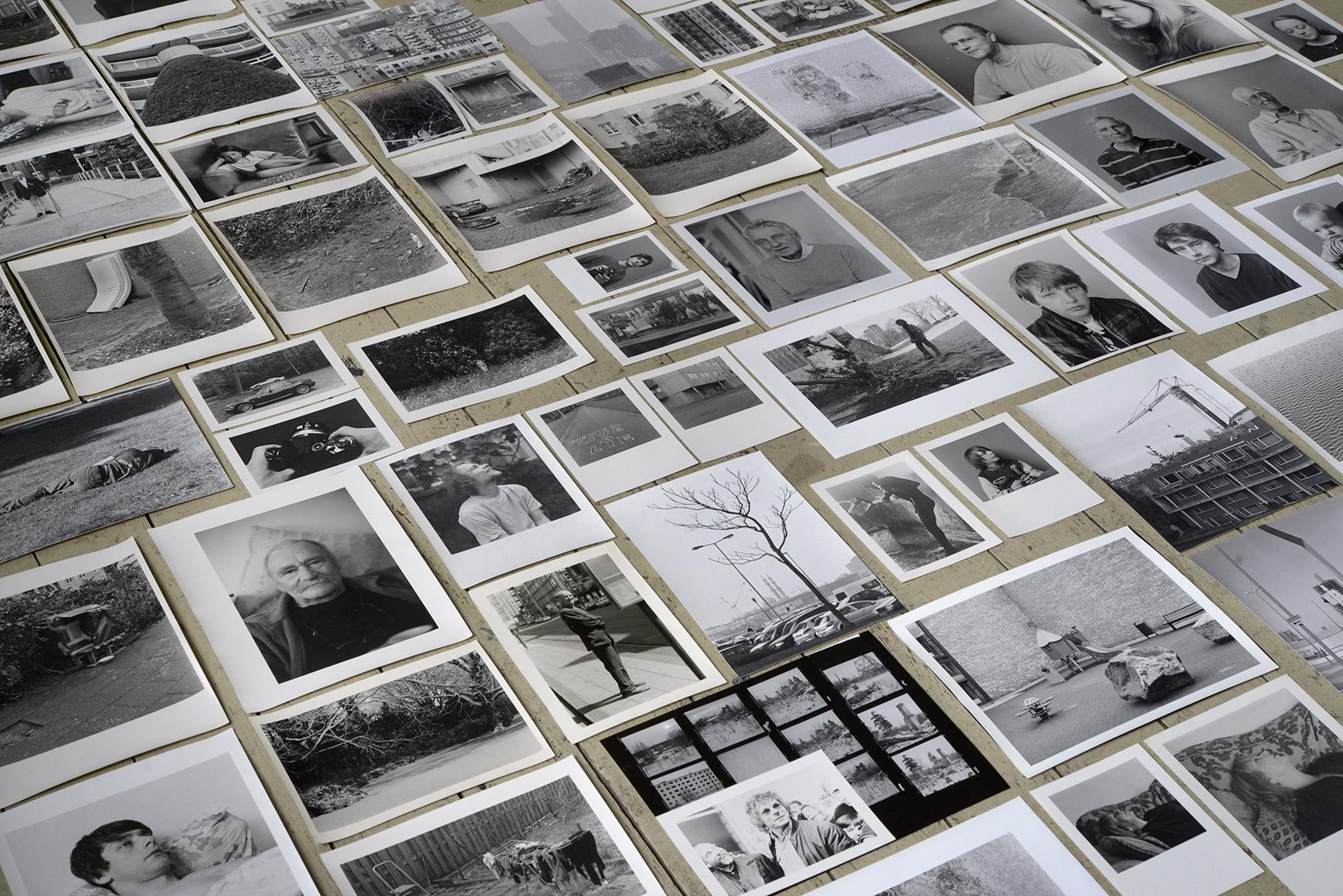 Marijn de Jong, overzicht van foto's gemaakt met camera's van Peter Martens, 2015